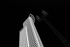 WestendTower (Karl-Heinz Bitter) Tags: building tower art monochrome architecture hessen frankfurt fineart architektur monochrom bitter hochhaus karlheinz westendtower khbitter