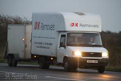 LDV DK Removals AE54 JXW (SR Photos Torksey) Tags: road truck transport lorry commercial dk vehicle removals logistics haulage ldv hgv lgv