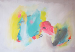 Summer Set (sarahspellitout) Tags: abstract art painting