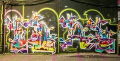Bumoe7 aka Toes (cocabeenslinky) Tags: street city uk england urban streetart london art writing aka lumix graffiti toes paint artist photos south united capital letters kingdom tunnel can spray east panasonic waterloo writers graff february leake se1 artiste 2016 dmcg6 cocabeenslinky bumoe7