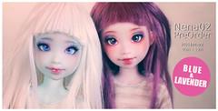 Nena02 Preorder! (marshmallowmosaic) Tags: pink blue girl doll bjd resin nena preorder atelier momoni