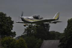 19th June 2010 Old Warden (rob  68) Tags: old june eurostar sl warden 19th 2010 ev97 aerotechnik evektor gevsl