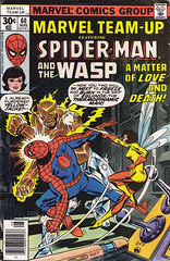 Marvel Team-Up 060 (micky the pixel) Tags: comics comic spiderman marvel equinox heft johnbyrne marvelteamup thewasp