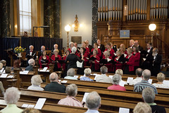 Aire Valley Singers at Joint Two Rivers Concert Sat 110715 United Reformed Saltaire