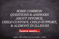 Here are some common questions and answers about #divorce, #childcustody, #childsupport and alimony in Illinois. READ MORE http://ow.ly/Ws0qb ******************************* #MichelottiLawFirm #JosephMichelotti #attorney #ChicagoAttorney #Chicagolawfirm # (Michelotti and Associates, Ltd) Tags: chicago illinois divorce kanecounty lawyers childsupport attorney cookcounty lakecounty bankruptcy dupagecounty estateplanning willcounty childcustody assetprotection irsproblems chicagoattorney foreclosuredefense chicagolawfirm estateplanningchicago josephmichelotti michelottilawfirm