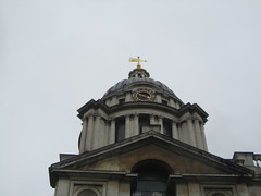 UK - London - Greenwich - Old Royal Naval College - Chapel of St Peter and St Paul (JulesFoto) Tags: uk england london greenwich chapel unescoworldheritagesite cupola oldroyalnavalcollege