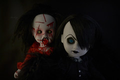 BloodyMary & Tenebre (Mientsje) Tags: angel dead living scary doll dolls mary gothic wing creepy horror bloody bloodymary ldd tenebre