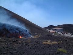 Etna - eruzione 2001 (ingv.pisa) Tags: etna colatalavica etnaeruzione2001