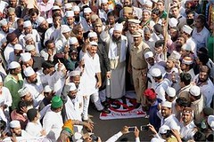 """Mumbai: Maharashtra Muslim Front carrying out """"March Against Terrorism"""" while condemning ISIS and other terrorist organisations in Thane (legend_news) Tags: out other muslim terrorist front while maharashtra thane mumbai isis carrying condemning organisations marchagainstterrorism"""