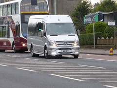 W5 HET (Cammies Transport Photography) Tags: road england bus mercedes benz scotland coach edinburgh rugby v het w5 specials unmarked corstorphine unvi w5het