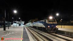 Despedida del Tren Hotel (Luis Cortés Zacarías) Tags: tren hotel noche via galicia nocturna zamora estación ferrocarril renfe talgo adif noctura