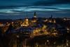 DSC01344 (jan.remund) Tags: wolken kirchen bynight bern lighttrails orte sonstige langebelichtung