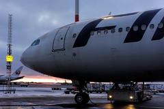 Airbus A340 - MSN 844 - OH-LQC (Matthias Harbers) Tags: photoshop plane finland flying airport helsinki sony finnair cybershot elements airline airbus labs dxo traveling hel jetplane vantaa topaz helsinkivantaa flygplats helsinkiairport rx100 helsingforsvanda