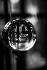 Crystal Ball (awdylanis) Tags: blur reflection glass ball dark orlando october florida crystal 10 magic harrypotter fortune future macabre universal telling mystic teller fortunetelling scrying crystalball seer gazingball divination 2015 universalstudiosorlando diagonalley clairvoyance universalstudiosflorida wizardingworldofharrypotter orbuculum