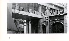 Bridge Connecting Hunter Buildings (Hunter College Archives) Tags: bridge building buildings exterior yearbook hunter 1989 huntercollege hunterwest thomashunterhall hunternorth wistarion thewistarion