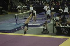 Joslyn Goings floor (5) (Susaluda) Tags: uw sports gold washington university purple huskies gymnastics dawgs