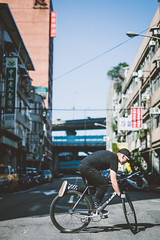 Street view of Taipei (Y.C.Tang ()) Tags: bicycle fixie fixedgear bikeporn