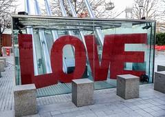 Valentine's at the London Eye (Blackers63) Tags: london love londoneye valentines