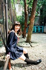 42380007 (WANGYANZHI) Tags: people cute art girl canon iso100 kodak taiwan 100 eos5     ektar  ximen 24mm105mm sgima   ektar100