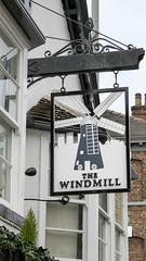Holgate Windmill pub sign - 1