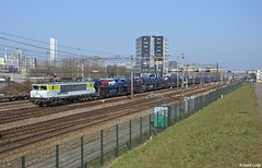 Captrain 1621, Rotterdam Zuid, 17-3-2016 9:59 (Derquinho) Tags: auto car train rotterdam ct 1600 trein zuid trnava zeebrugge autozug 1621 koln gefco kijfhoek eetc autotrein 46268 captrain