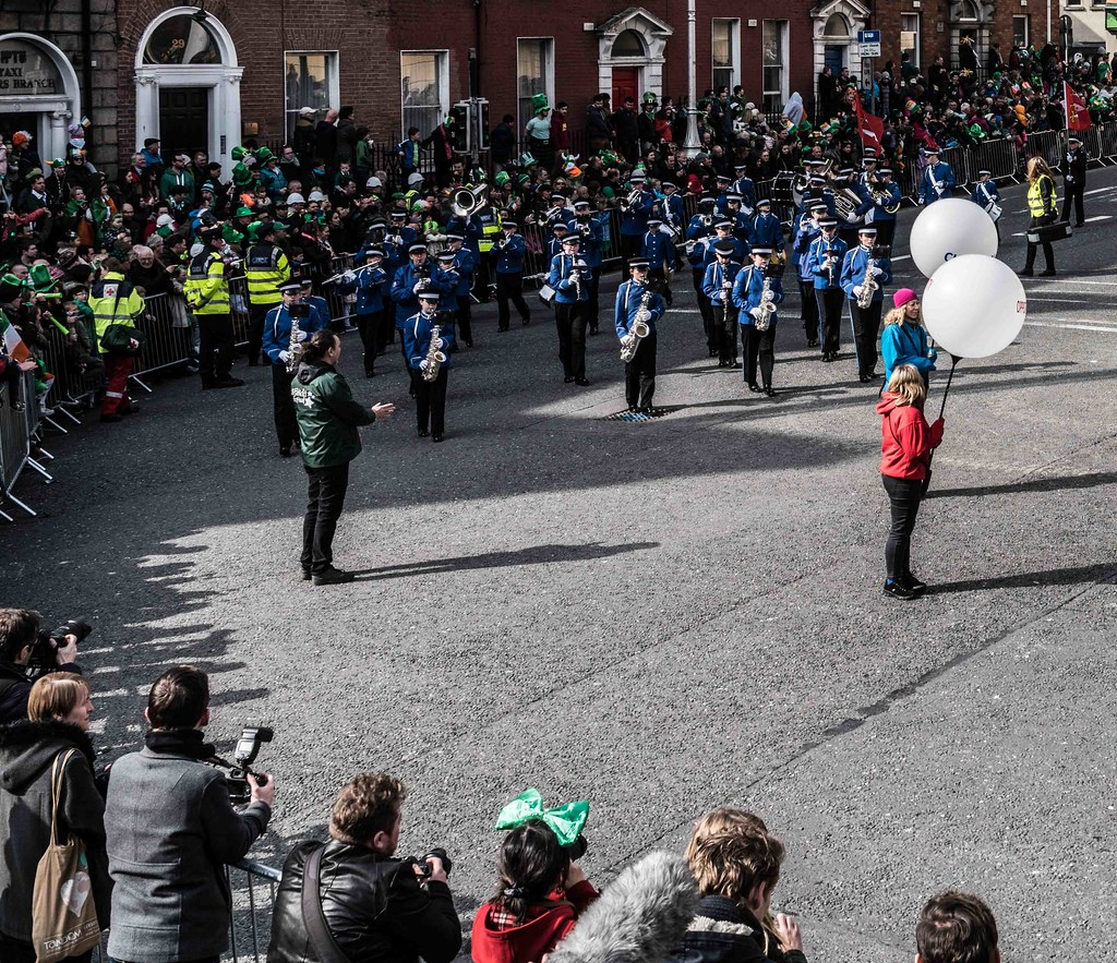 ESSEX MARCHING CORPS FROM THE UK [ST. PATRICK'S PARADE DUBLIN 2016]-112622
