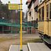 Straßenbahnhaltestelle an der Schleuse Kleinmachnow