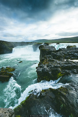 29082015-IMG_5494 (Nicola Pezzoli) Tags: road trip travel wild summer sky fall nature water river waterfall iceland rocks cloudy nordic sland icelandic goafoss