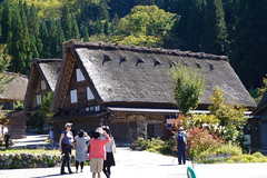 Shirakawa-go, Japanese Alps (jorisz) Tags: travel autumn mountains alps nature japan japanese asia colours village kamikochi japanesealps ogimachi shirikawago gasshzukuri