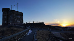 Sunset   from Cabot Tower - Easter Sunday  87/366 Project (Tina Dean) Tags: sunset samsung stjohns smartphone signalhill cabottower 365project 366project tinadean imagesfromtheshutter tmdean tinagfw tinamdean samsunggalaxys5 366project2016 365project2016