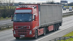 MM 99LIN (panmanstan) Tags: uk truck wagon volvo yorkshire transport international lorry commercial vehicle a1 fh darrington haulage