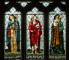 Morton (Lincs), St Paul's church window (Jules & Jenny) Tags: church morris stainedglasswindow morton burnejones
