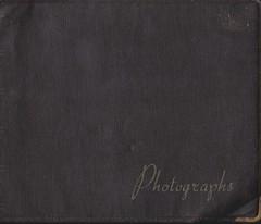 1950's Photo Album Cover (Bury Gardener) Tags: uk england blackandwhite bw cornwall 1954 1950s oldies