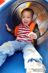 March 1 2016 - The thrill of the park slide (lazy_photog) Tags: park old family playing four photography year tube slide grandson lazy wyoming excitement elliott thrill sanders photog worland 031116gooseberryride
