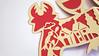 DSCF5043 (Elsita (Elsa Mora)) Tags: christmas paperart card redandwhite papercraft holidaycard papercutout elsita papercutting elsamora