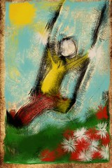 GUarda come dondolo fingerpaint (sorpresina) Tags: paint finger fingerpaint