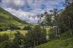 My heart's in the Highlands - Robert Burns (lunaryuna) Tags: scotland highlands viaduct lunaryuna glenfinnan glens panoramicviews landscapesthatdrawyouin scotlandinmyheartandmind