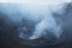 DRC - Nyiragongo volcano, lava lake (1) (lukasz.semeniuk) Tags: volcano lava crater lavalake democraticrepublicofcongo nyiragongo