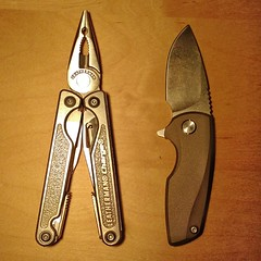 gnome (FeebleOldMan) Tags: leatherman gnome knife flipper charge malyshev chargetti