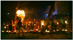 playing with fire (Soumya Bandyopadhyay) Tags: festival rural fire village prayer wide perspective ritual bengal puja westbengal gajon charak canon1635mmf28lii canoneos5dmk3