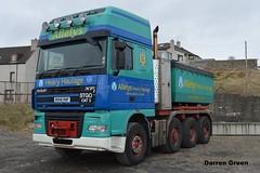 ALLELYS HEAVY HAULAGE DAF XF SUPER SPACE W948 RWP (denzil31) Tags: truck pull wick heavyhaulage daftrucks dafxf allelys towheads stgocat3 isleburn