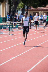 Dami bring home the win in the 4x100m (Malcolm Slaney) Tags: track paloalto homestead trackandfield 2016 paly 4x100mrelay