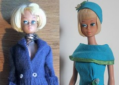 Barbie AG (DeanReen) Tags: original girl fashion vintage bend leg barbie before 1966 american ag blonde after editor platinum 1965 1635