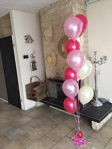 Gronddecoratie 10ballonnen