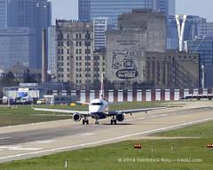 British Airways ERJ170 ~ G-LCYF ( Freddie) Tags: london londoncityairport ghostsign newham e16 lcy royaldocks eglc runway27