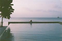 (GregoryDavenport) Tags: sunset film 35mm thailand olympus ishootfilm kohsamui expired maenam portra escapebeach filmsnotdead