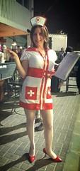 To be on the safe side (shishi0611) Tags: costume purim nurse