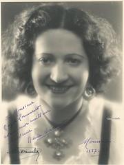 AUDOUIT, Rene, Mireille (Operabilia) Tags: opra mireille autographe soprano monnaie gounod claudepascalperna reneaudouit