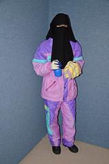 DSC_9398 (Warm Clothes Fetish) Tags: girl warm coat hijab sweat fleece niqab maid anorak slave snowsuit burka chaddor