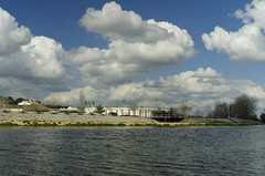 Blues II (Capturedbyhunter) Tags: blue cloud portugal k rio 30 river landscape pentax outdoor paisagem santarm fernando 28 marques smc f28 k5 waterscape ribatejo coruche 30mm sorraia caador fajarda